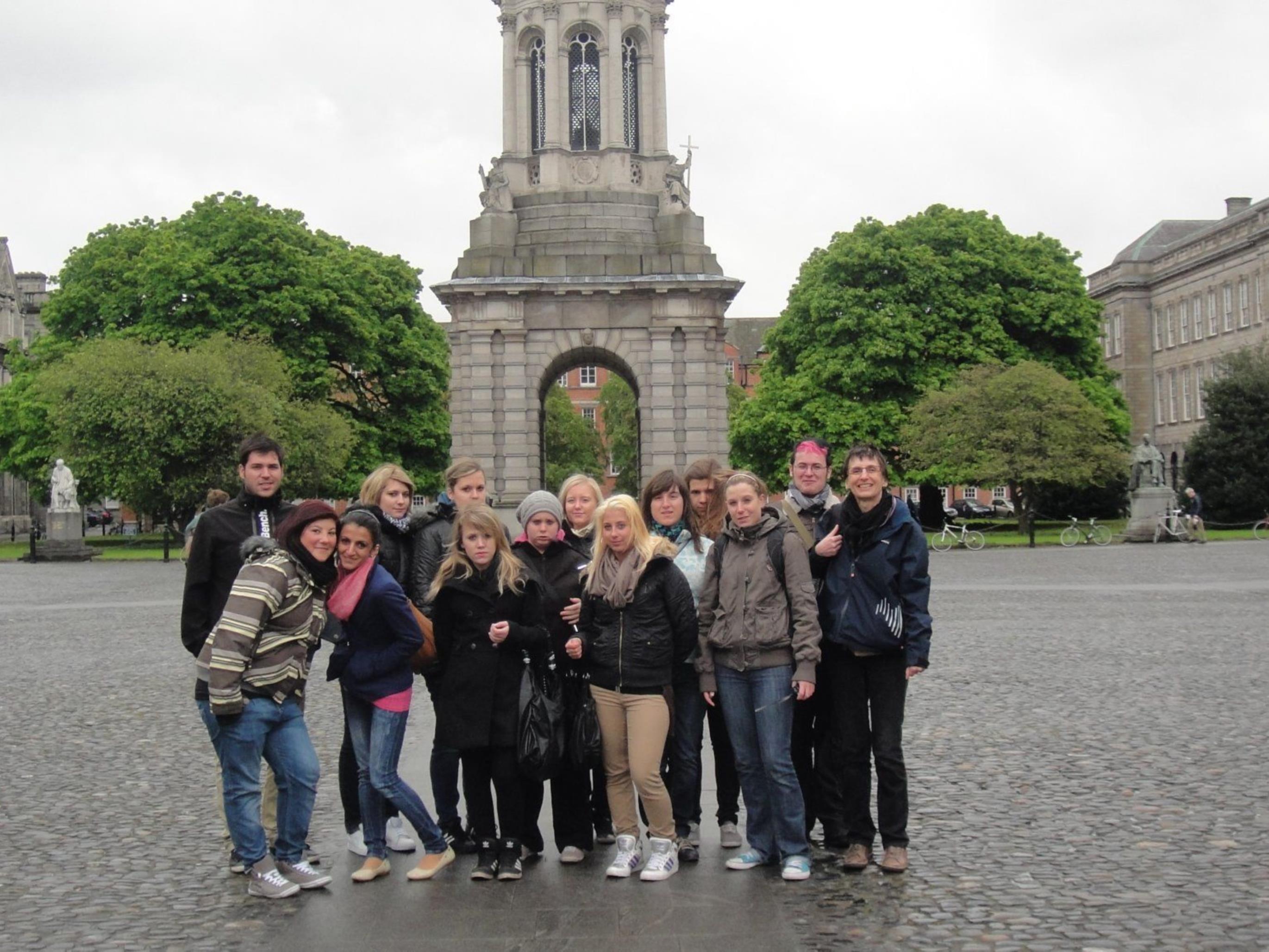 Die TeilnehmerInnen der Irlandreise 2012