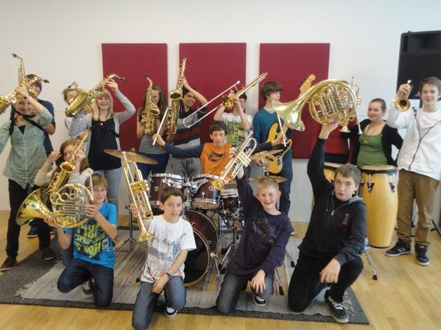 Musikmittelschul-Big Band am Sonntag im Foyer der Kulturbühne AmBach - 19 Uhr