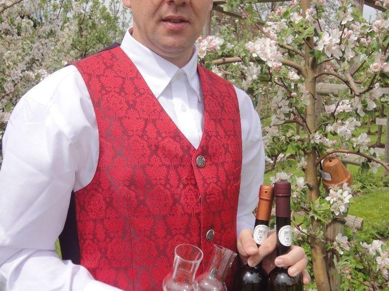 Kurt Vonach wurde zum besten Ländle-Schnapsbrenner 2012 gekürt.