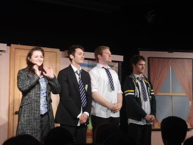 Die vier Schauspieler aus England begeisterten