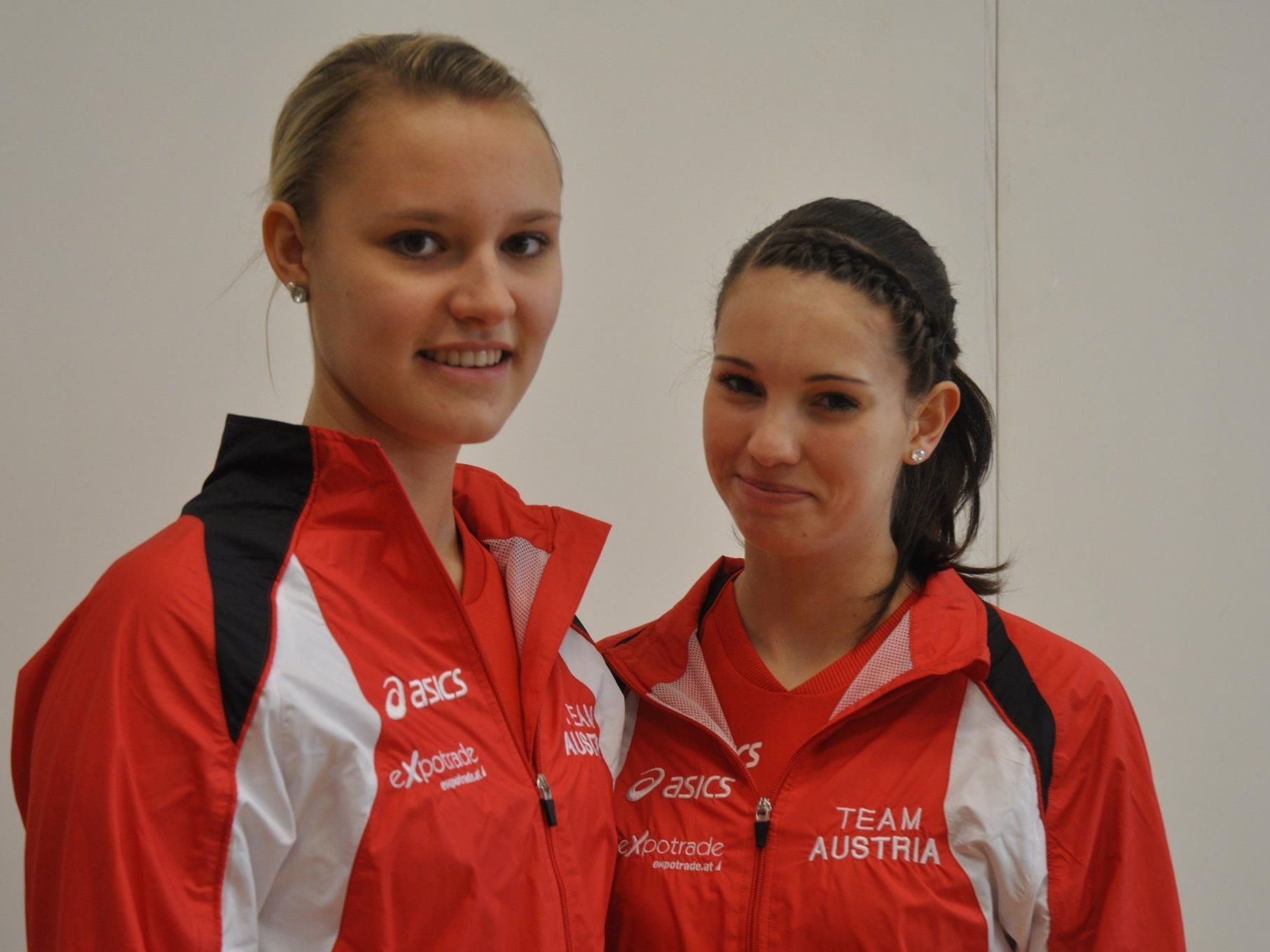 Dürfte der Titel nicht zu nehmen sein. Nadine Mörth und Kathi Kühne im 2er Juniorinnen.