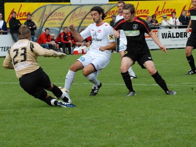Im zweiten Halbfinale stehen sich am 13. Juni der FC Sulzberg und FC Egg gegenüber