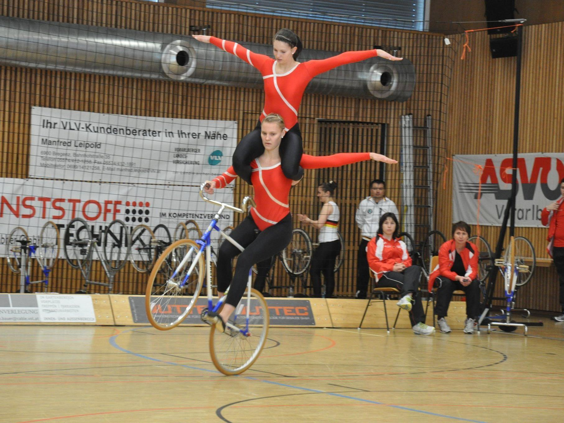 Nadine Mörth und Kathi Kühne holten sich den Titel im Juniorinnen U 19.