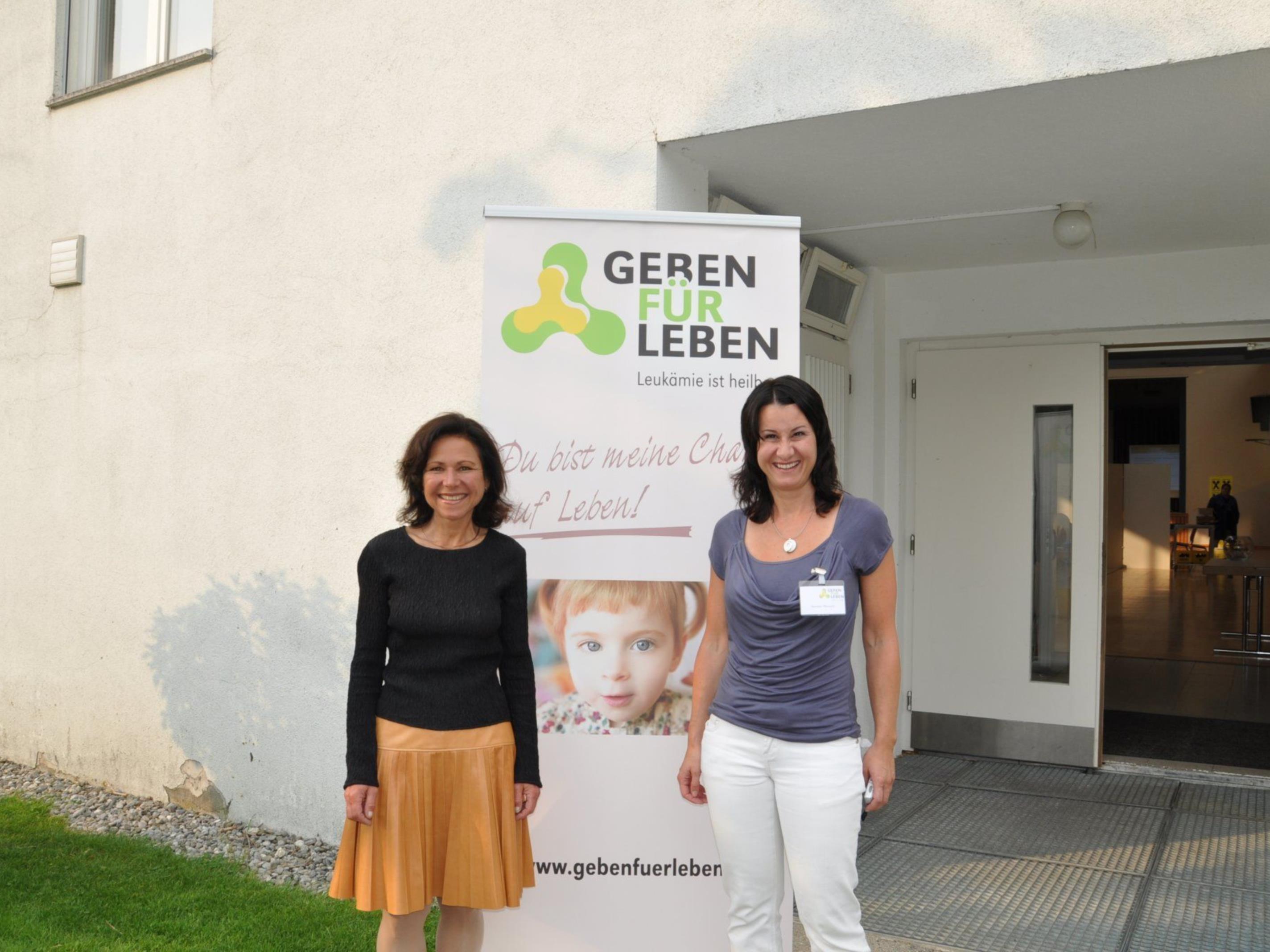 Judith Lutz und Susanne Marosch