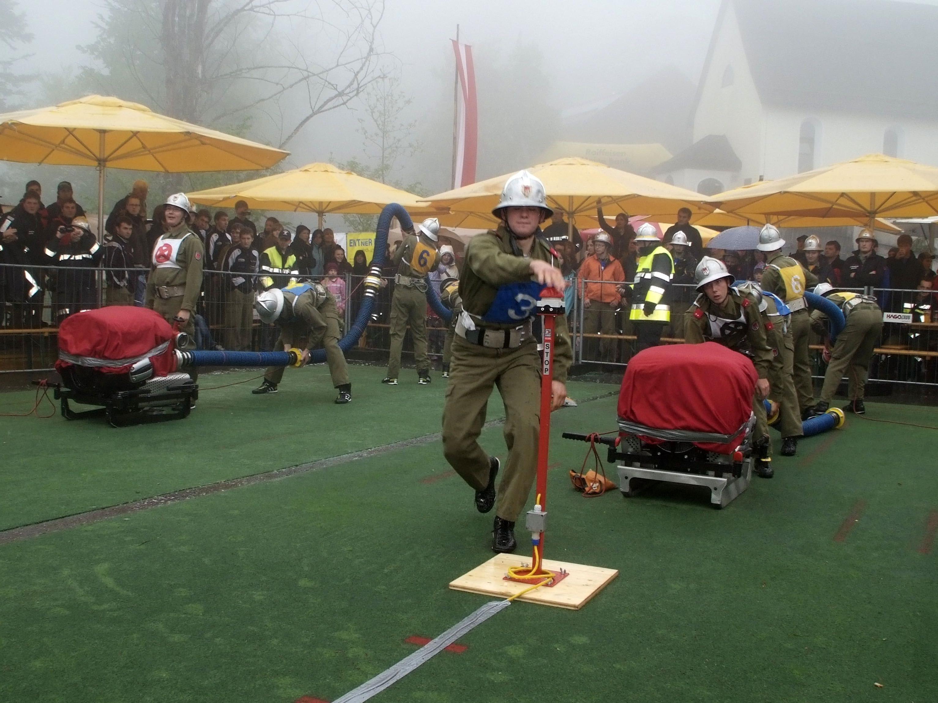 Trotz widriger äußerer Bedingungen zeigten die Wettkampfgruppen absolut Spitzenleistungen.