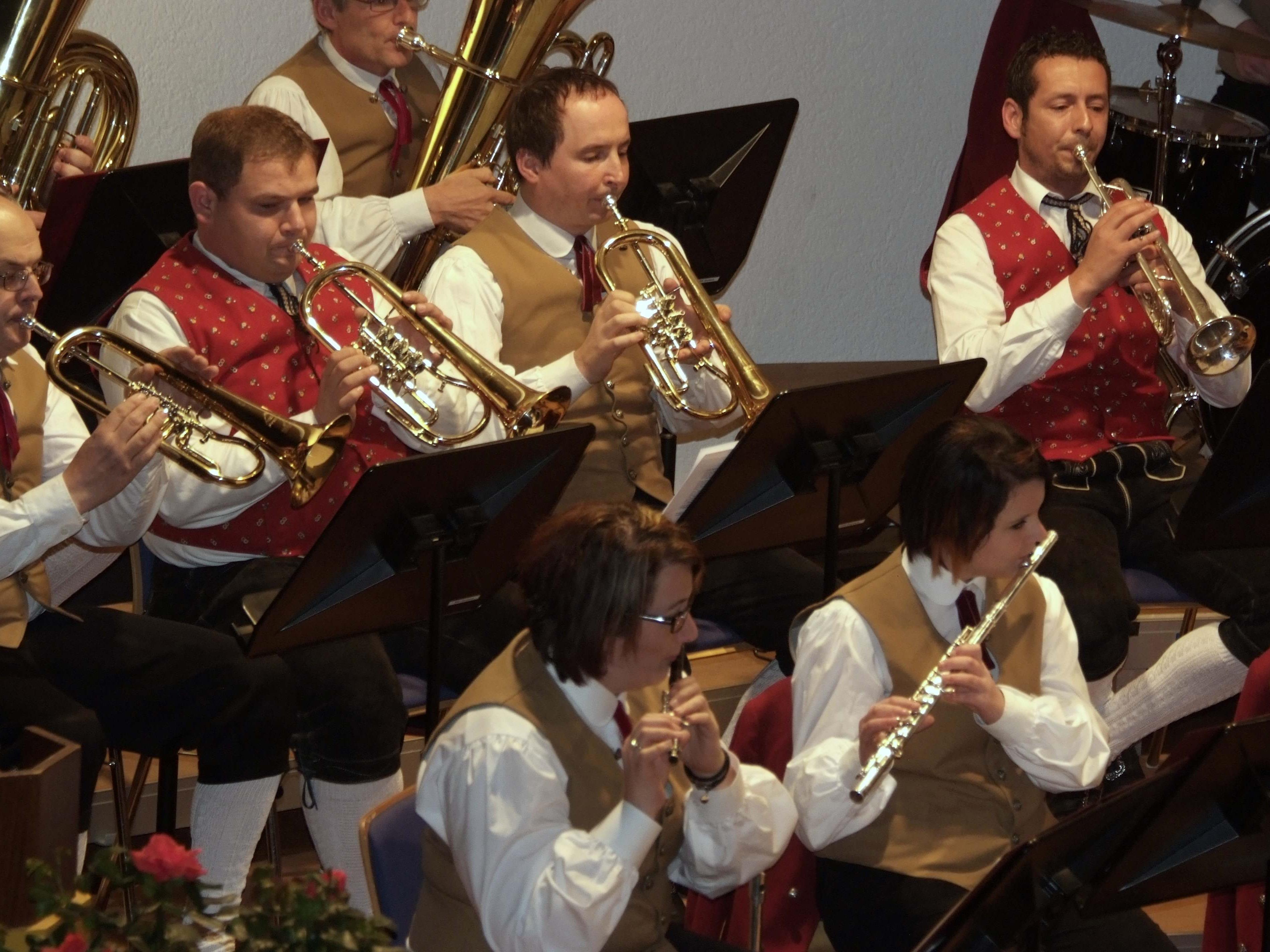 Flott aufgespielt hat der Bürgermusikverein Bludesch beim Muttertagskonzert.