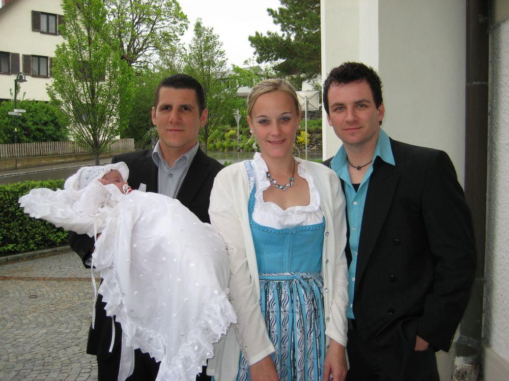 Fabienne Ender wurde getauft.