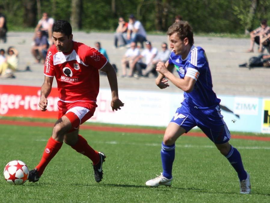 FC Mohren Dornbirn schoss sich für den Schlager gegen Wattens warm und erzielte sechs Tore.