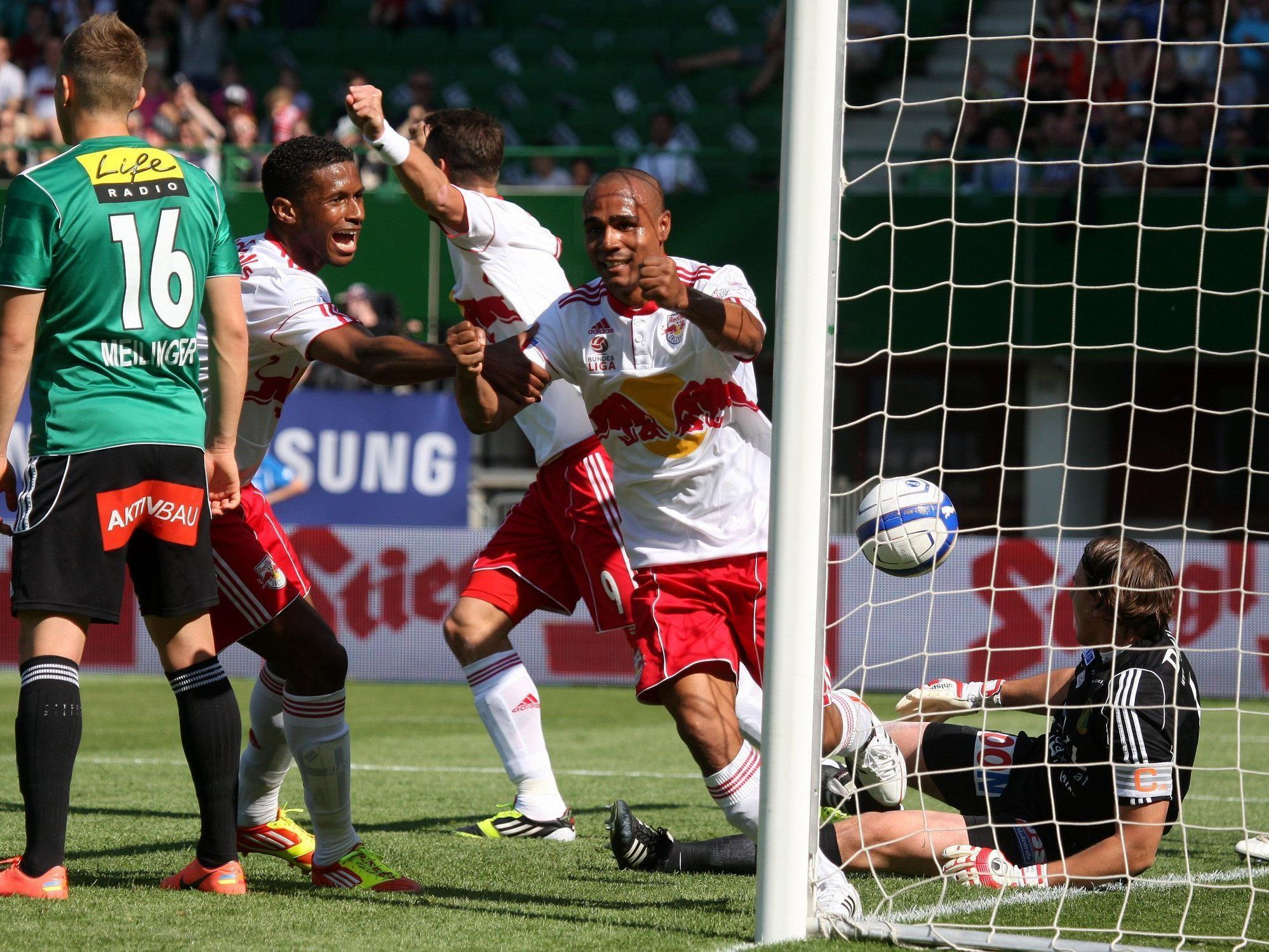 Salzburg krönt sich gegen Ried zum Cupsieger
