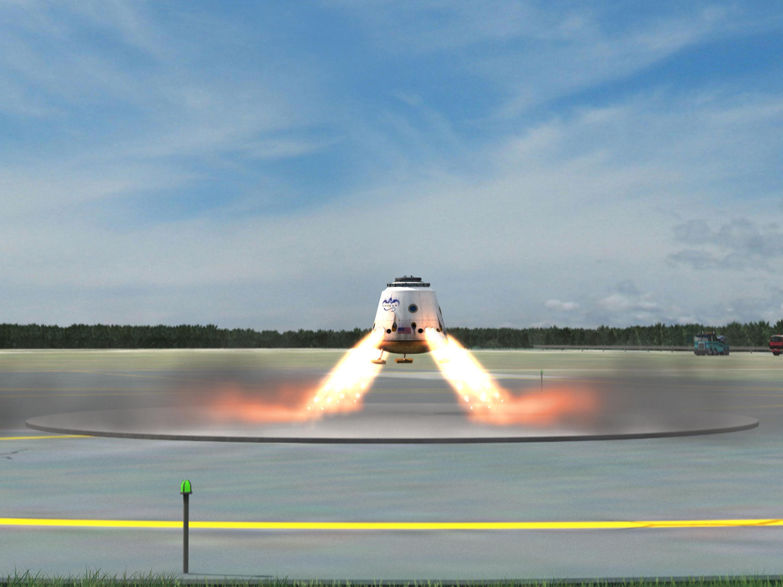 Erstes privates Raumschiff fliegt zur ISS