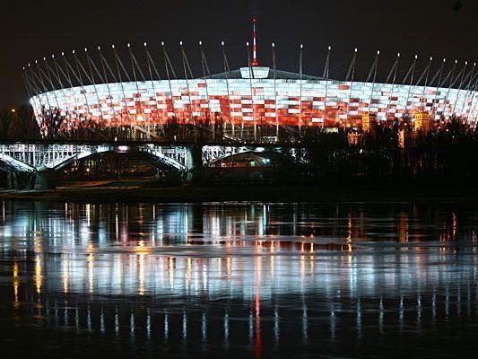 Unter anderem wird die Fußball-EM im Nationalstadion in Warschau ausgetragen