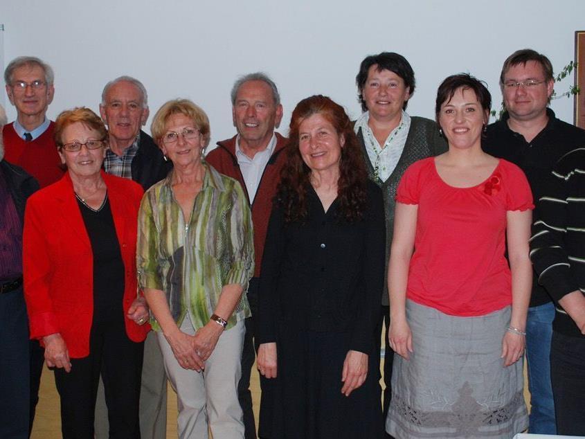 Ehrung verdienter langjähriger, ehrenamtlicher MitarbeiterInnen der Caritas.