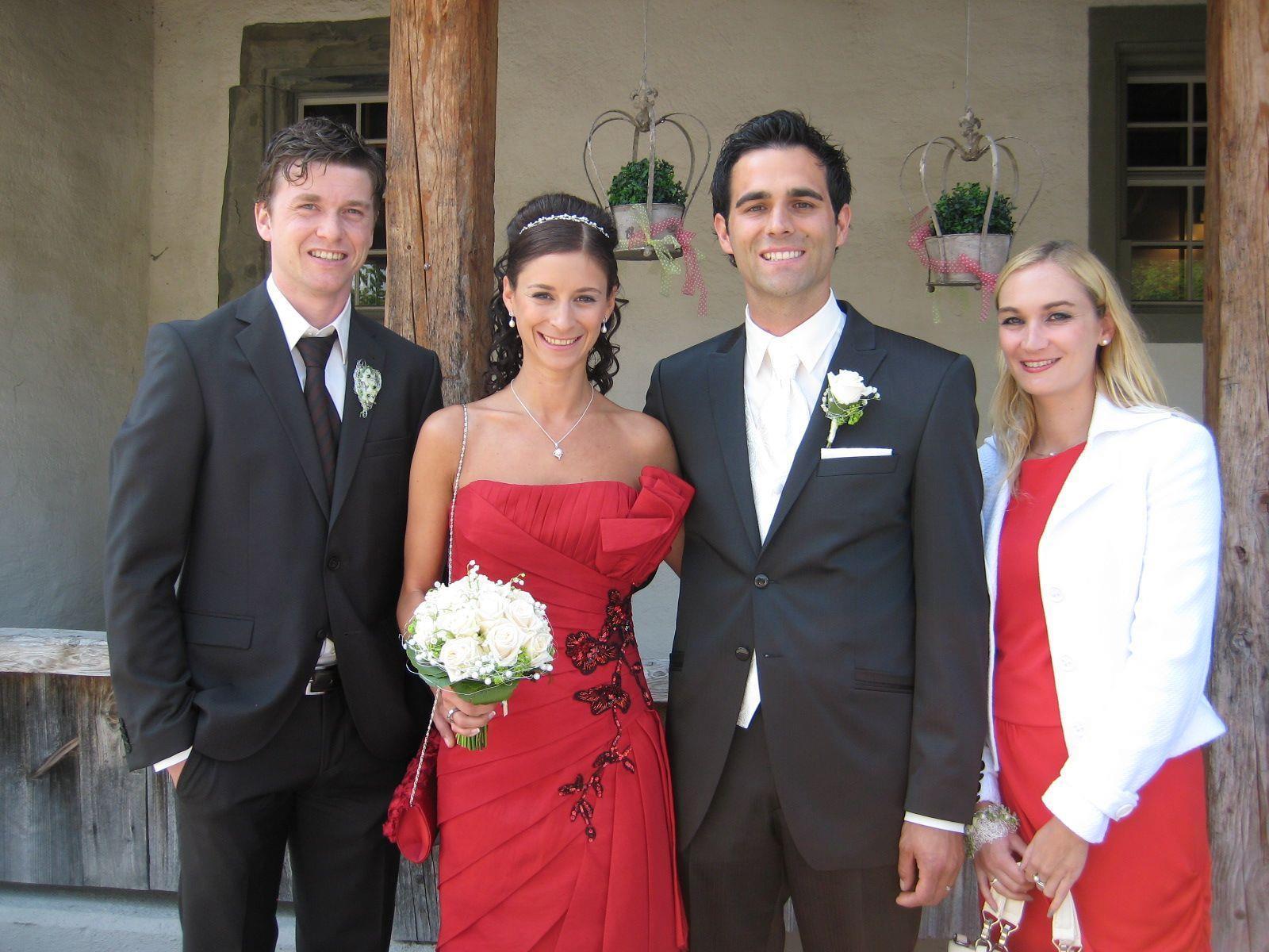 Rebecca Kreutz und Christian Schranz haben geheiratet.