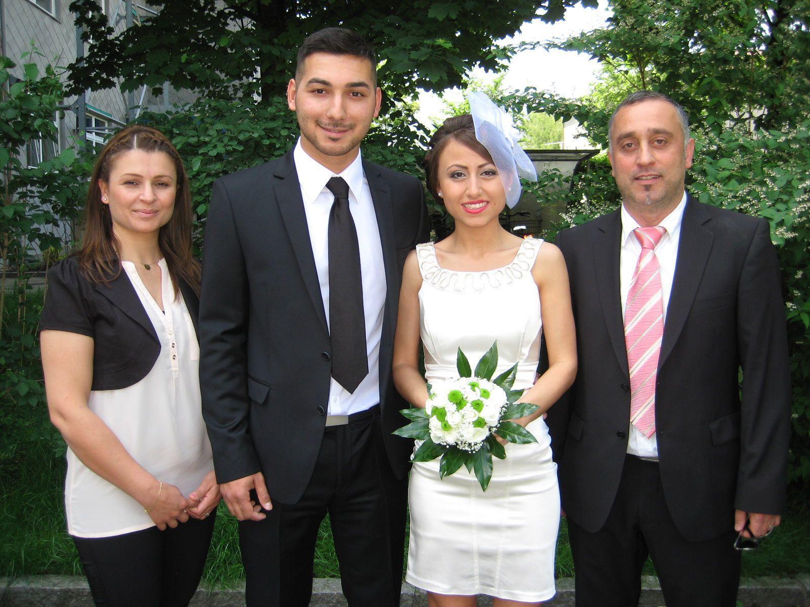 Rabiye Demircan und Yavuz Güllü haben geheiratet.