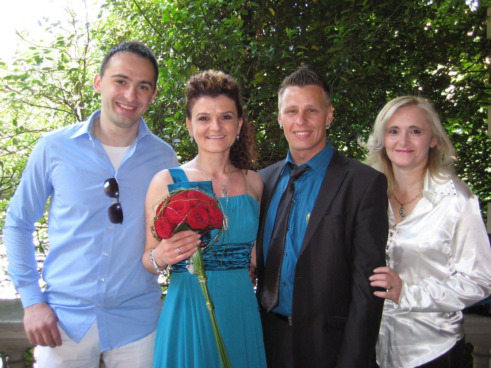 Andja Balac und Dragan Peric haben geheiratet.