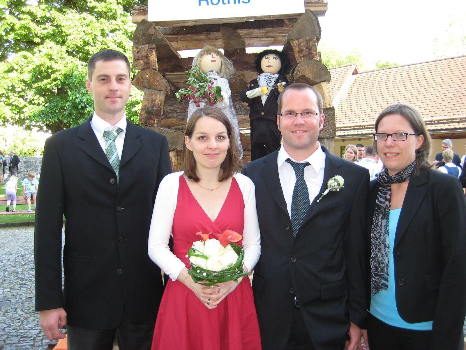 Angelika Nester und Rupert Keckeis haben geheiratet.