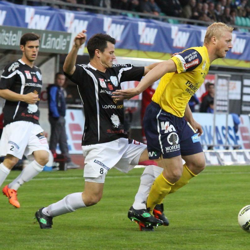 FC Lustenau verlor gegen Hartberg mit 0:3.