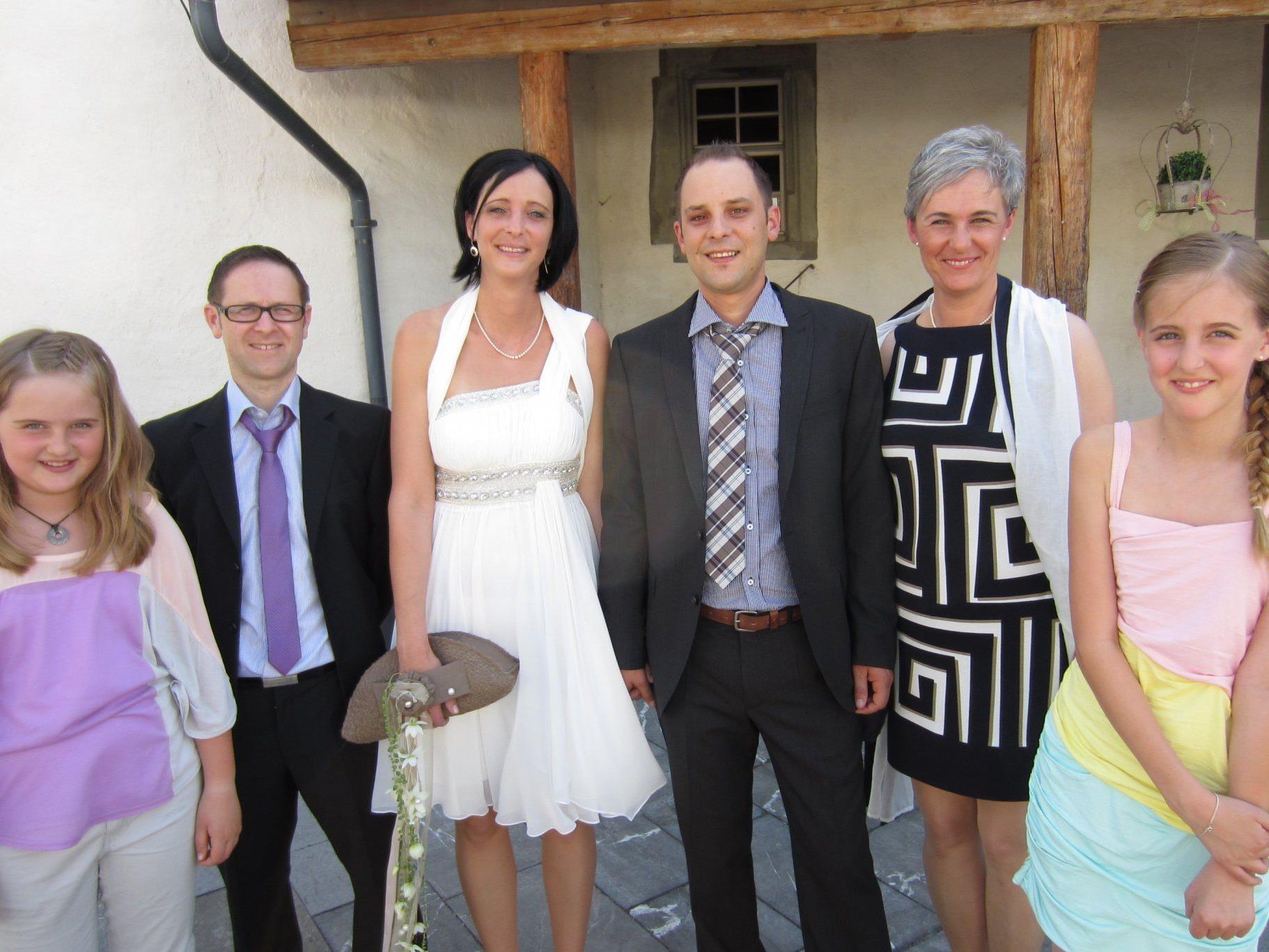 Gabriela Züblin und Frank Gaßner haben geheiratet.