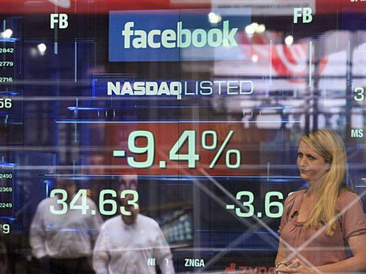 Facebook-Aktie sank auf weiteres Tief unter 29 Dollar.