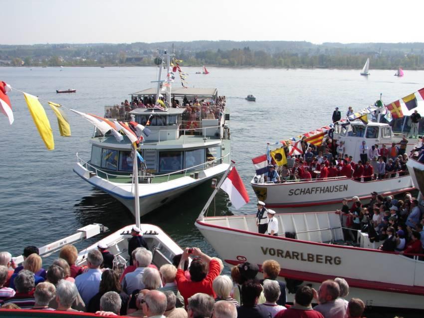Flottensternfahrt der Bodenseeanrainerstaaten