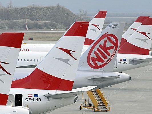 Am Flughafen Schwechat kam es zu einer Panne bei einem niki-Airbus