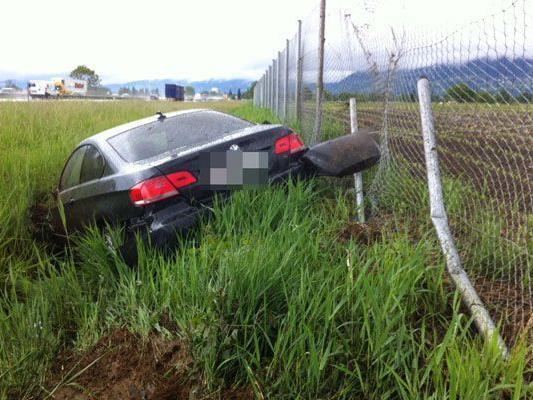 Mit dem Schock kamen zwei Lenker bei Unfällen am Mittwoch davon.