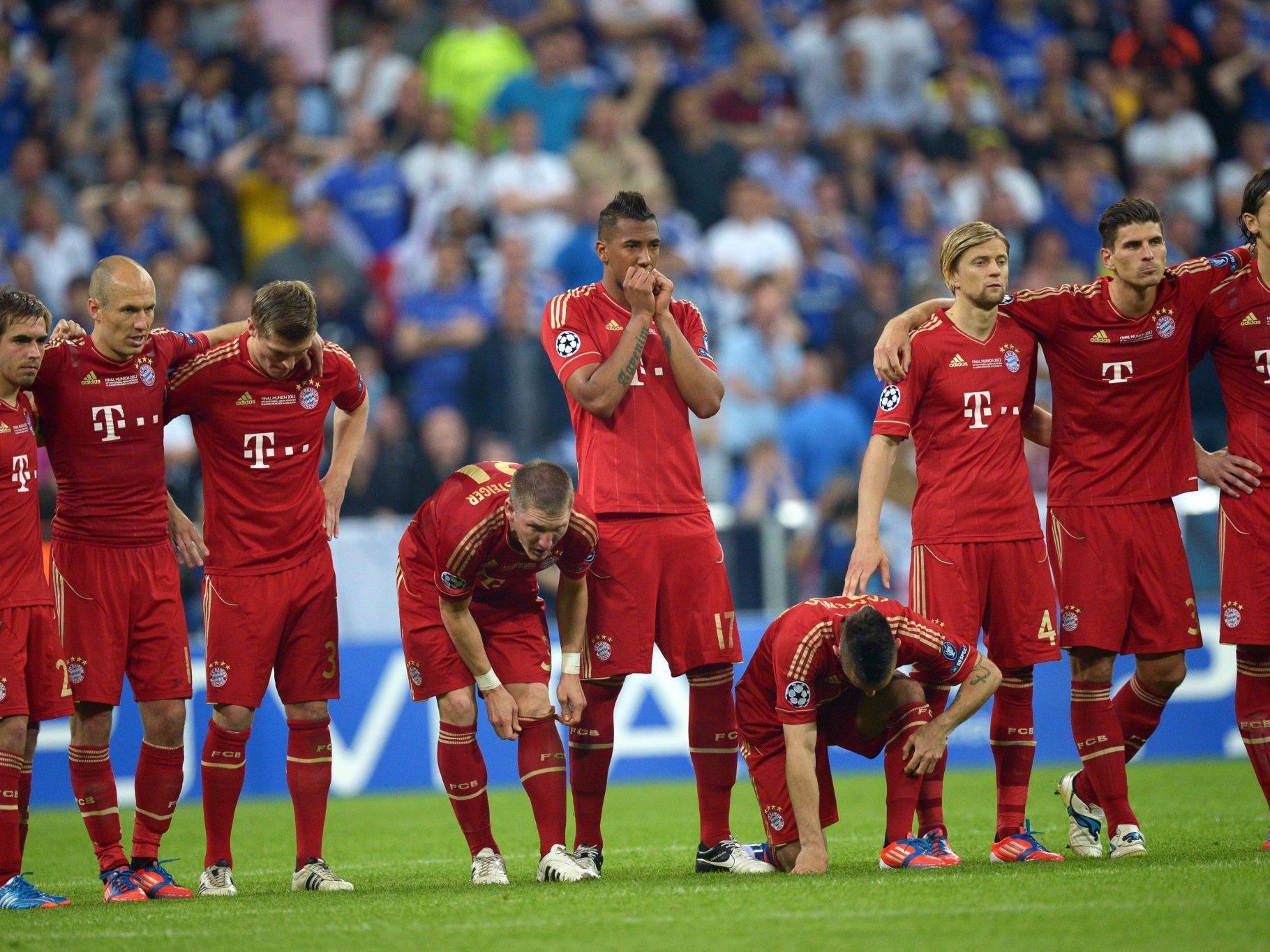 Niedergeschlagenheit beim FC Bayern, Jubel bei Chelsea.
