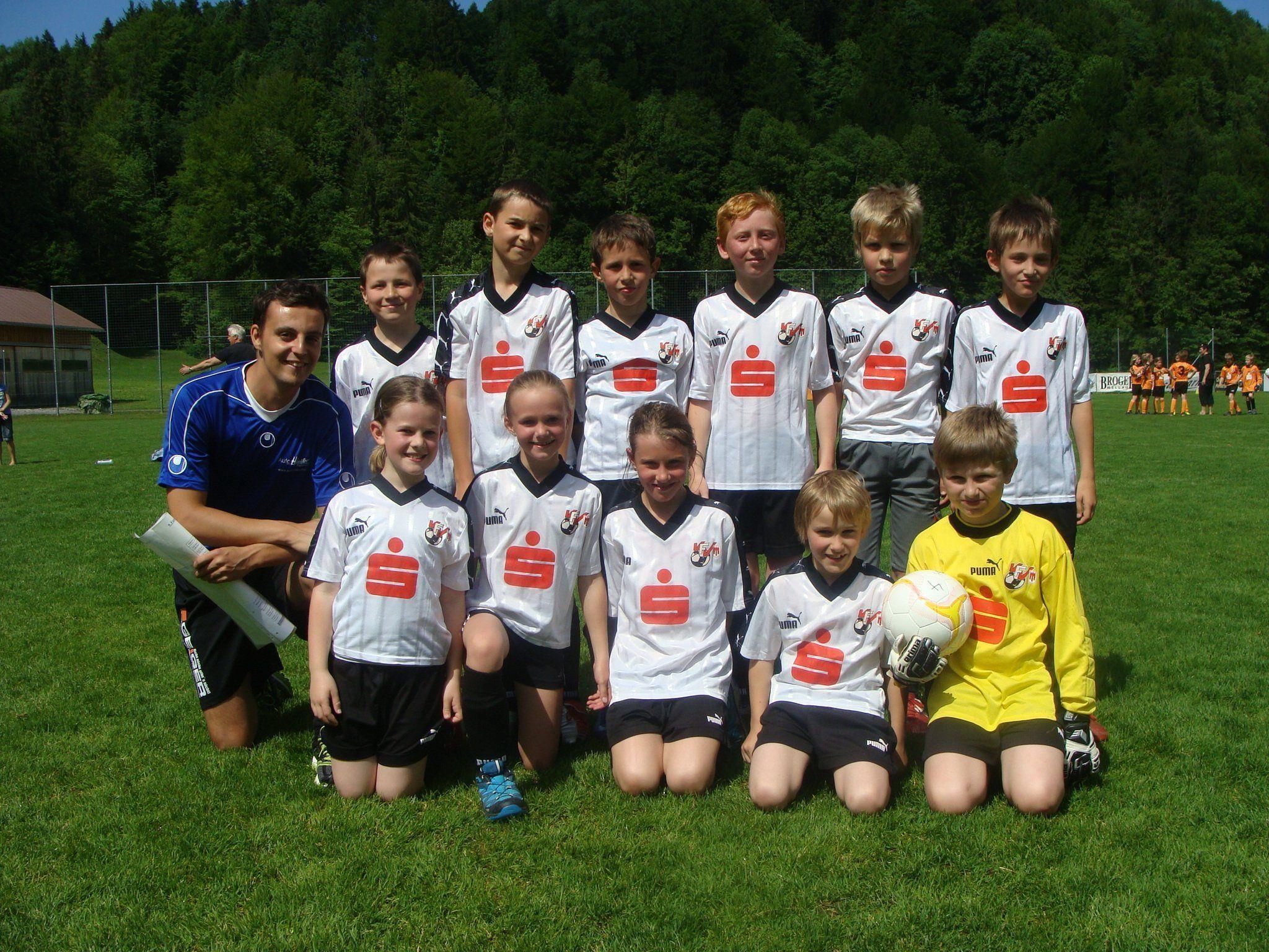 Das Team der Volksschule Schwarzenberg.