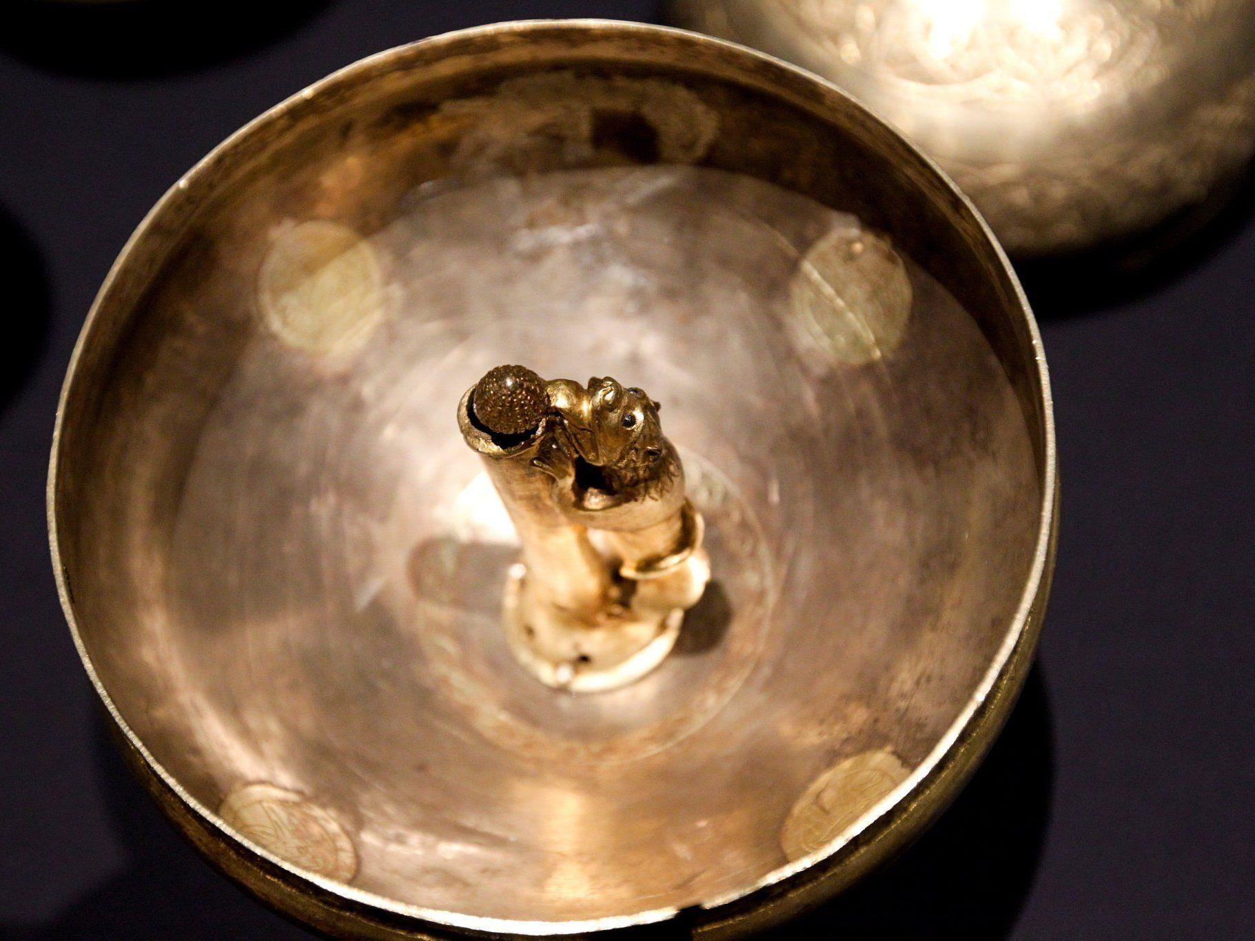 Das Objekt der (technischen) Begierde: Gold - in Katalysatoren in feinstem Staub.