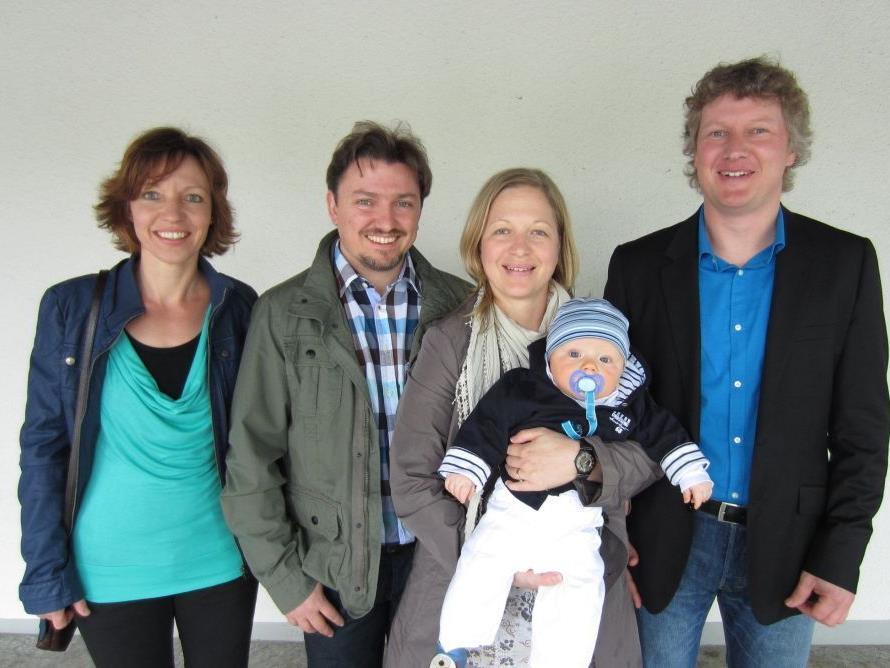 Tobias Grasser wurde getauft.