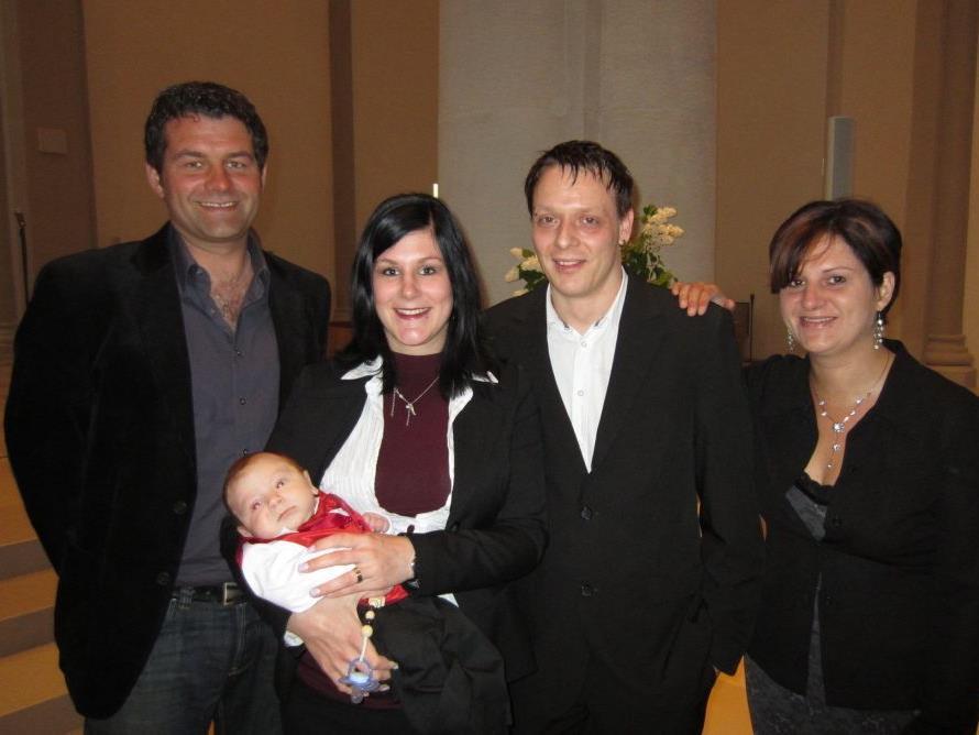 Jérome Pratter wurde getauft.