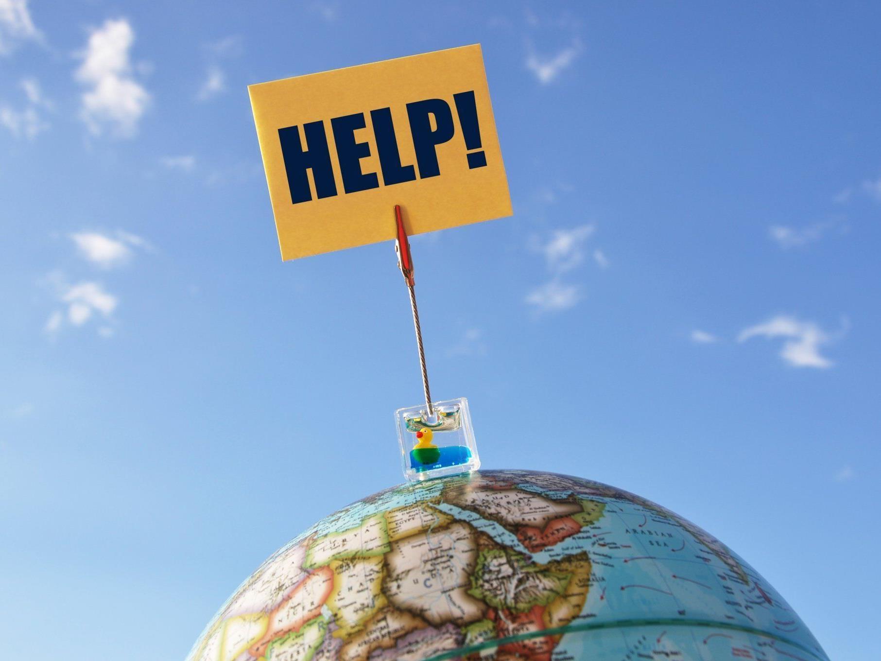 Hilfe Globus