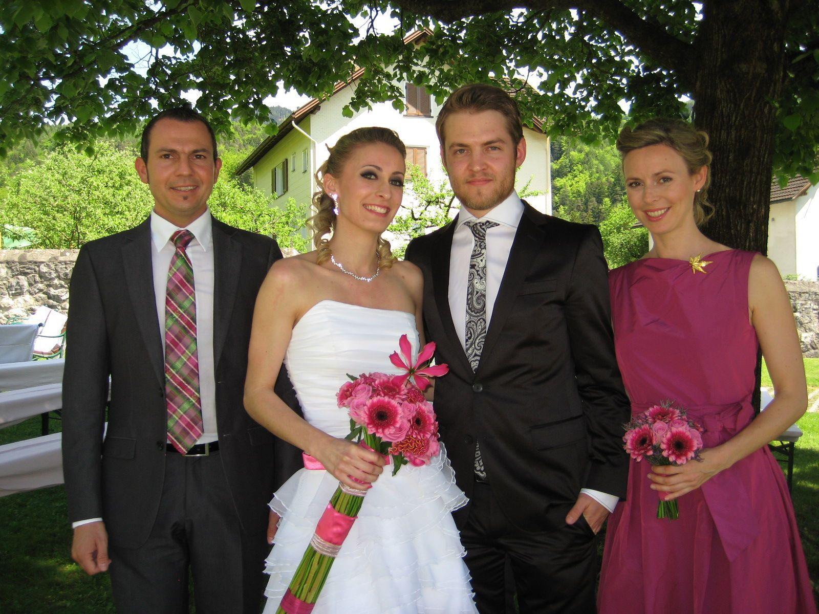Denise Rieger und Daniel Hartmann haben geheiratet.