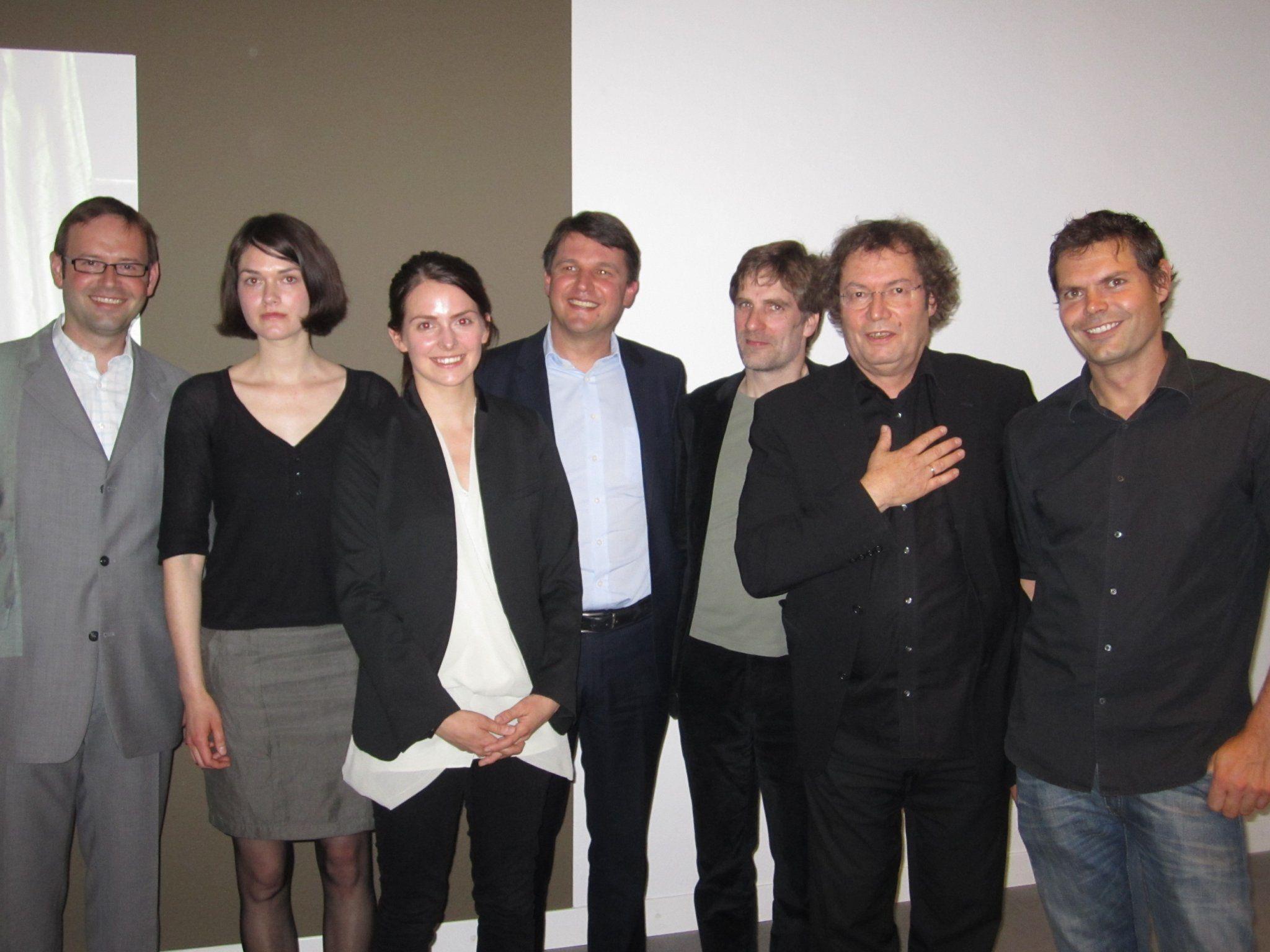 Claudia Larcher und Liddy 'Scheffknecht  präsentieren Installationen in der Galerie Hollenstein