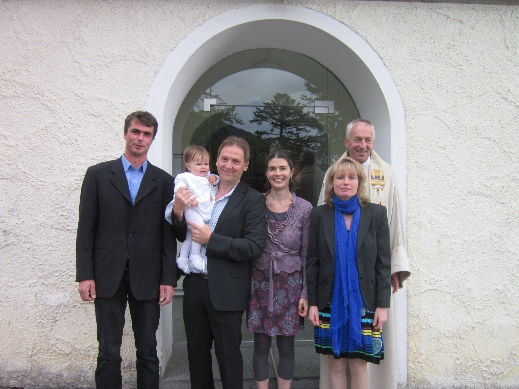 Taufe von Janka Trizsi