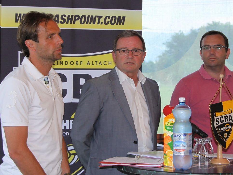 Rainer Scharinger wird neuer Trainer beim SCR Altach.