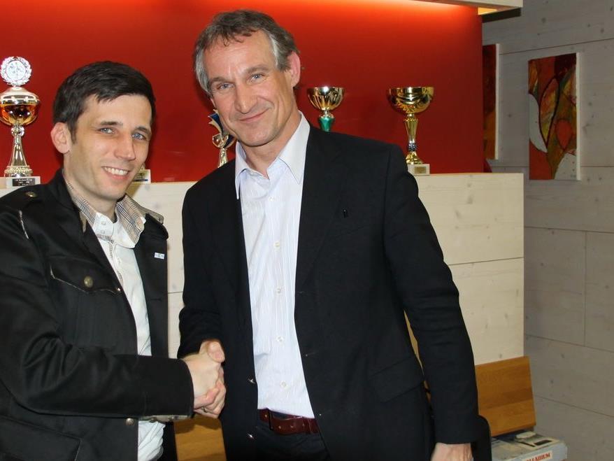 Pascal Pletsch ist seit etwas mehr als zwei Monaten neuer SC Bregenz-Präsident.