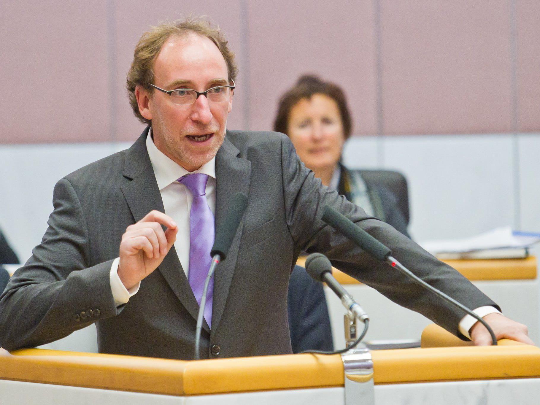 Neuer und alter Spitzenkandidat der Landesgrünen: Johannes Rauch.