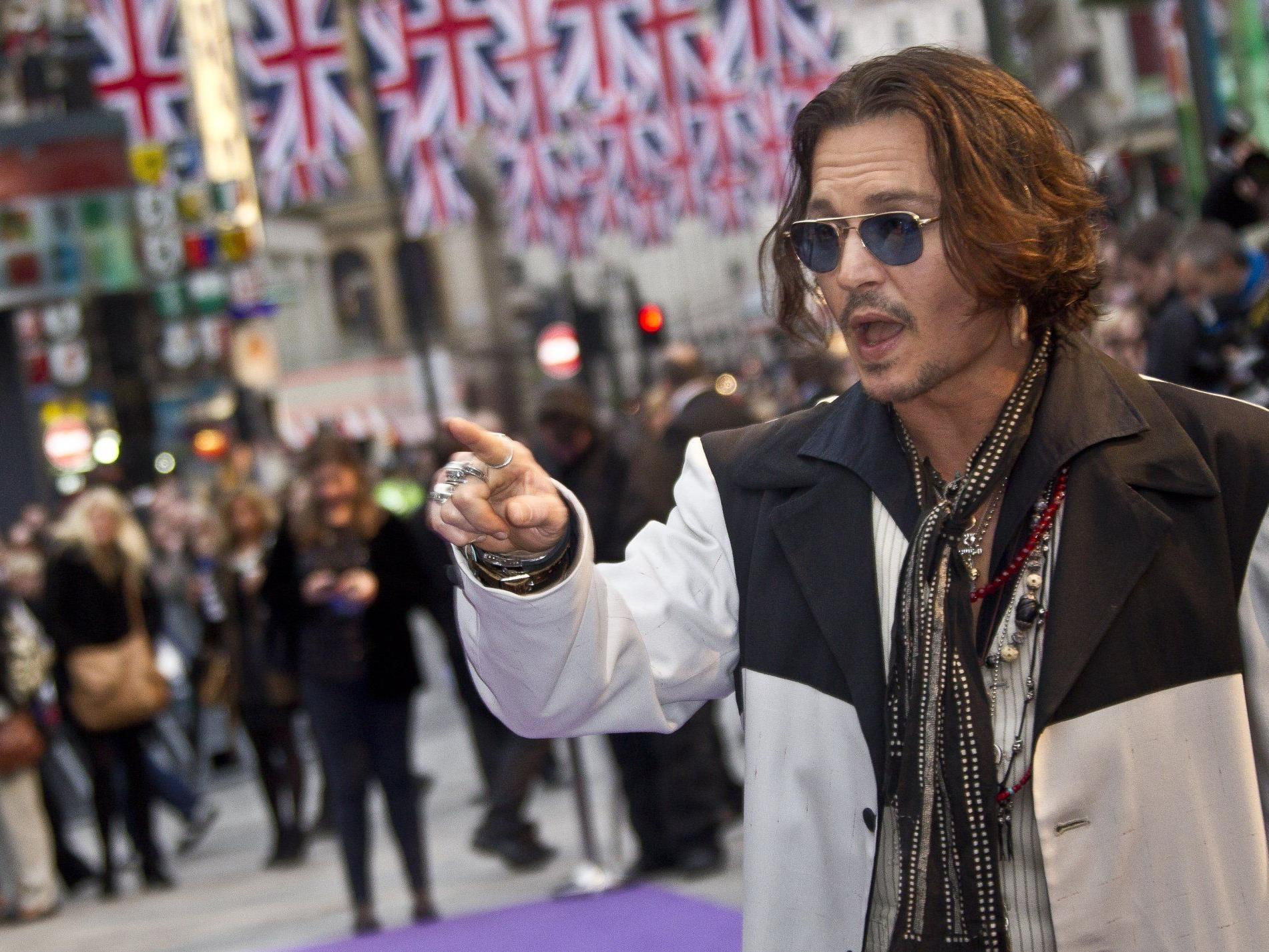 Johnny Depp hat viele Inspirationsquellen.
