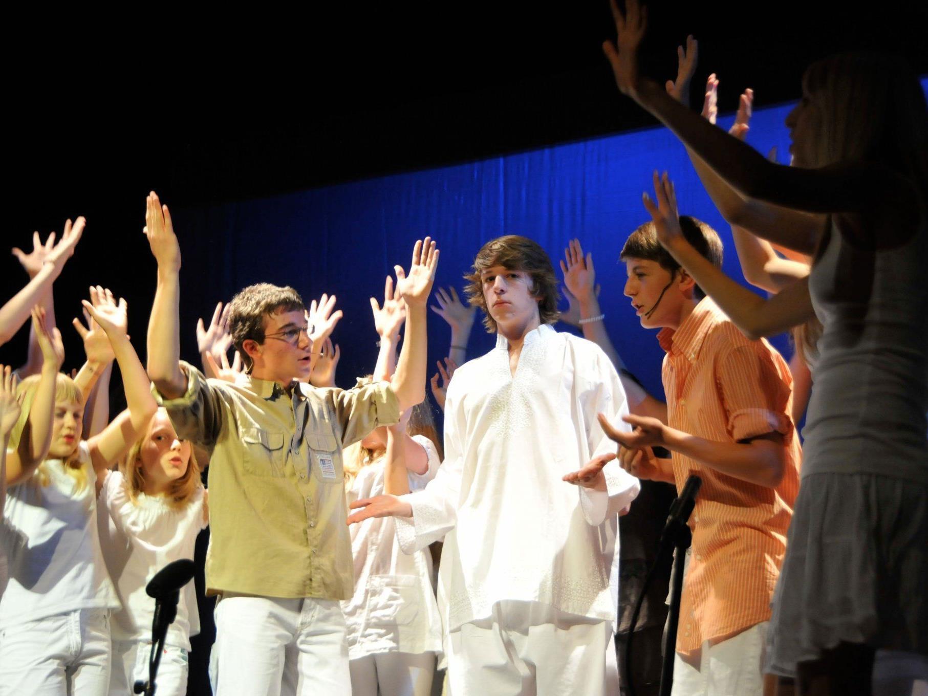 Jugendchor der Musikschule Rankweil-Vorderland.