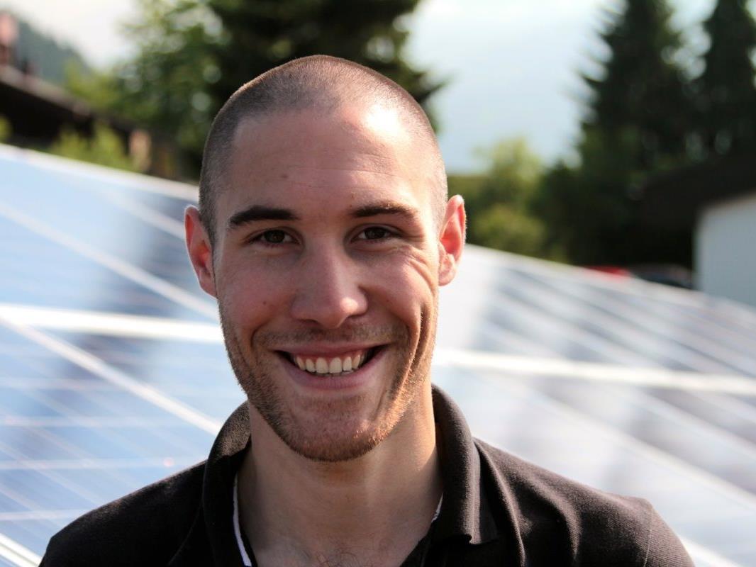 Bauleiter Alexander Netzer ist von der Zukunftsinvestition überzeugt