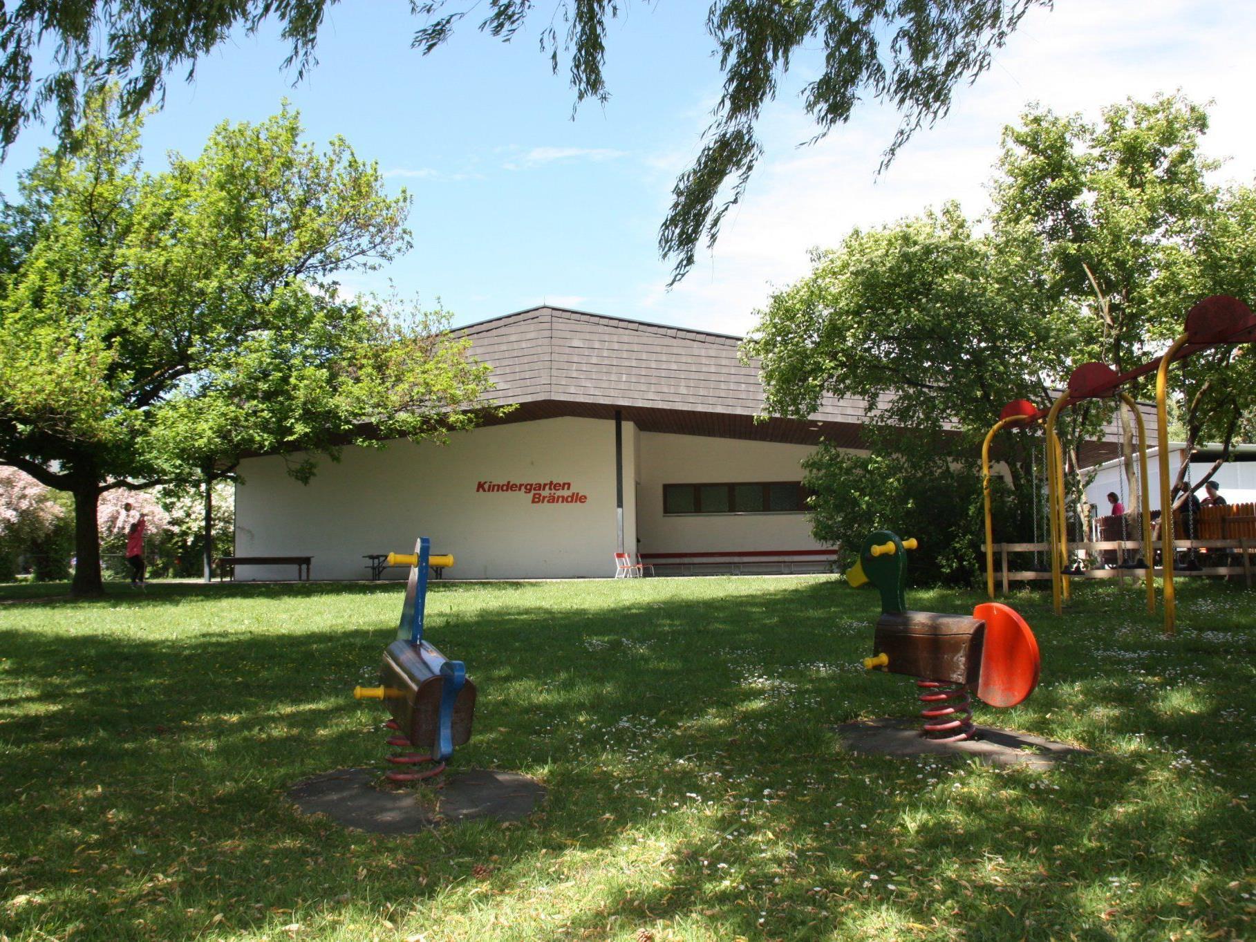 Der Kindergarten Brändle wird um einen Gruppenraum erweitert, derzeit läuft das Ideenfindungsverfahren.