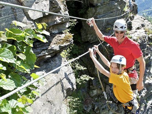 Klettergarten in Gaschurn - Rifa