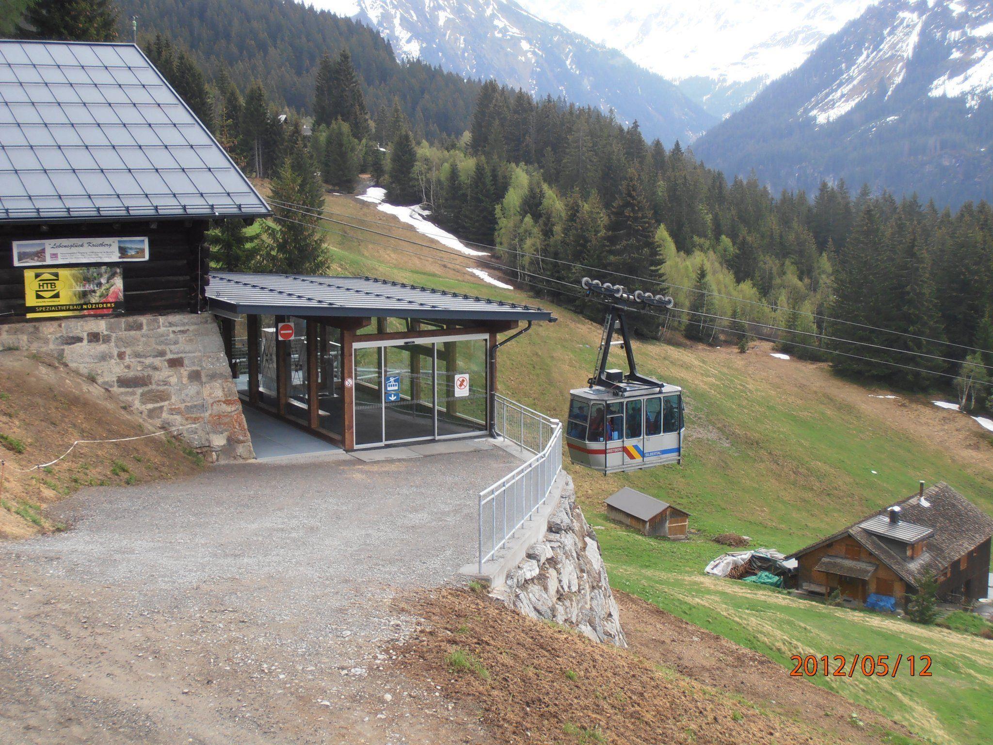 Die umgebaute Bergstation kommt  bei den Besuchern gut an.