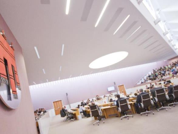 Parteigesetz: Einstimmiger Beschluss im Landtag.