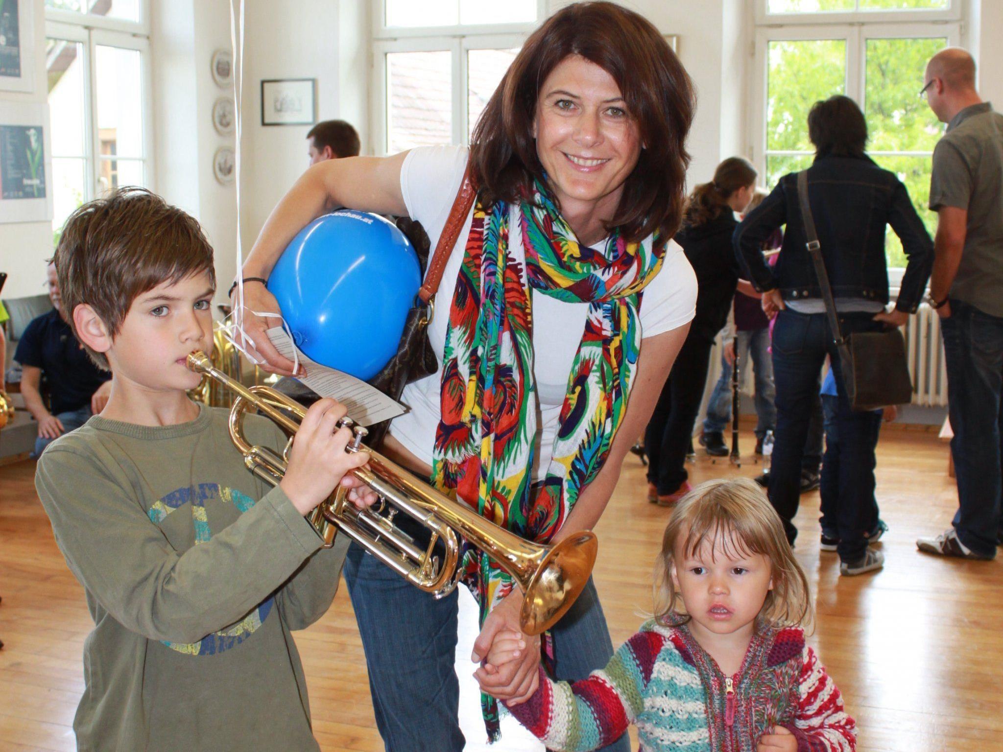 Musizieren macht Spaß: Unter diesem Motto sucht und fördert der MV Lochau musikalische Talente.