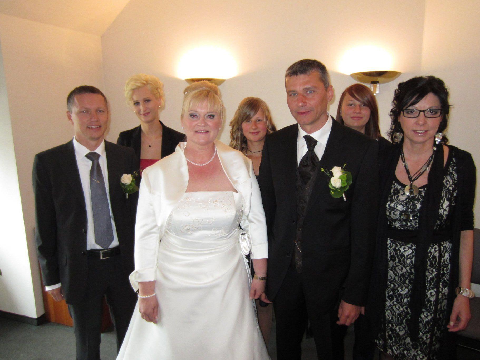 Magdalena Rinderer und Herbert Kohler haben geheiratet.