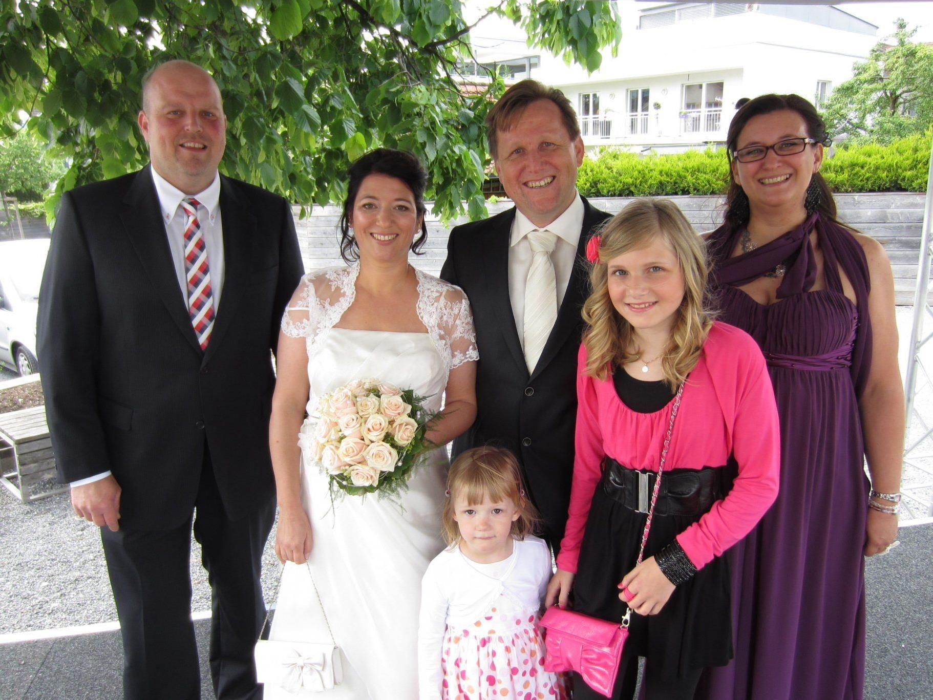 Anita Fleischhacker und Werner Schmucker haben geheiratet.