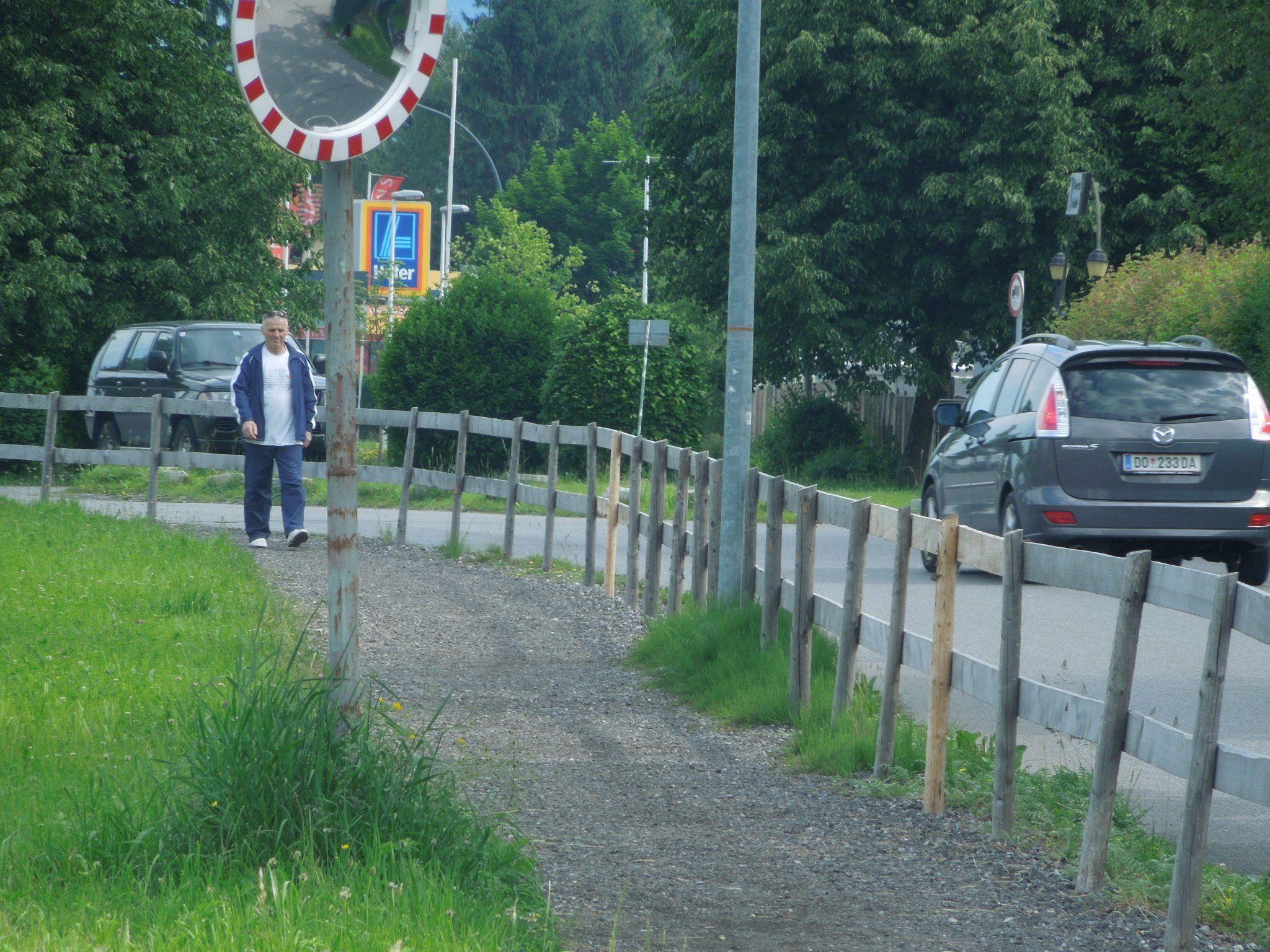 Auf der Färbergasse wird oft das Tempolimit nicht eingehalten. In den nächsten Wochen wird die Polizei diese Strecke verschärft beobachten.