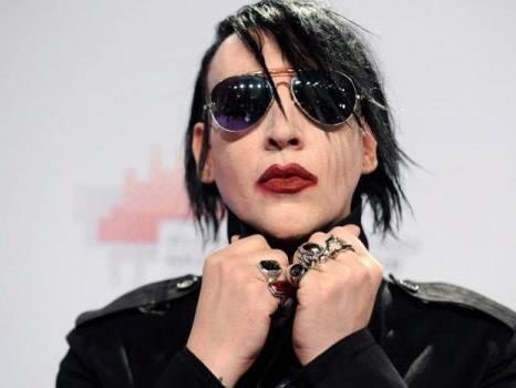 "Der ""King of Shock"" - Marilyn Manson"
